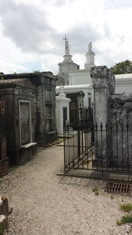 tombs at St Louis #1 Cemetery