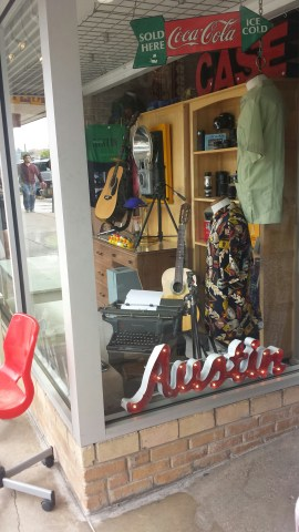 Lots of vintage and antique shopping in South Congress