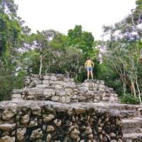 Ruines de Muyil Yucatan