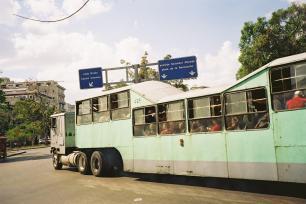Bus dans la Havane