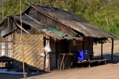 maison d une tribu dans le nord du vietnam