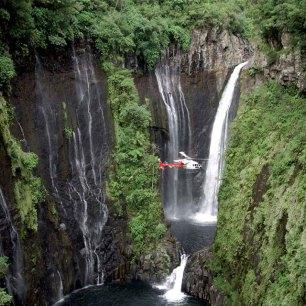 Réunion Hélicoptère Source Exotismes.fr