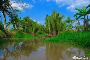 arroyos dans le delta du mekong