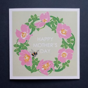 Mother's Day Rose Greetings Card