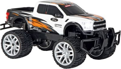 The information contained in this publication was correct at the time of going to print. 2 4ghz Ford F 150 Raptor White Carrera Rc Mytoys