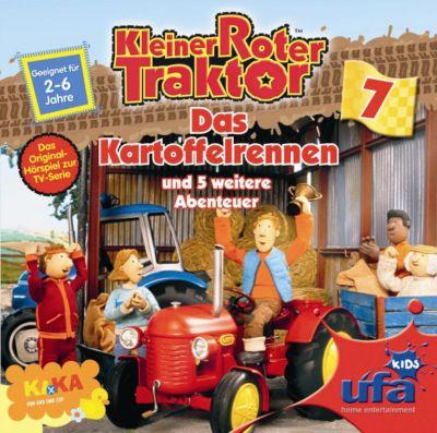 CD Kleiner Roter Traktor 07 Das Kartoffelrennen Kleiner