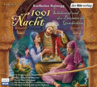 1001 Nacht, 1 Audio-CD Hörbuch