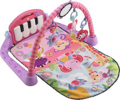 fisher price piano gym spieldecke pink spielmatte mit spielbogen babydecke fisher price