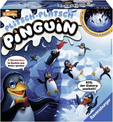 Plitsch Platsch Pinguin, Ravensburger  Mytoys