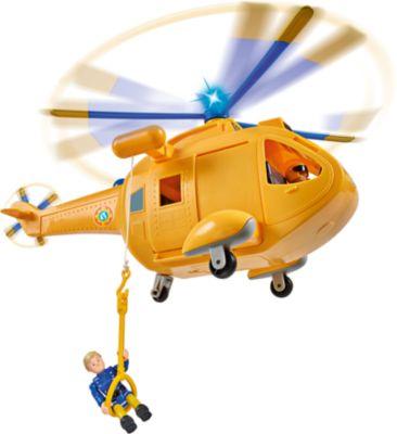 Feuerwehrmann Sam - Hubschrauber Wallaby 2 mit Figur