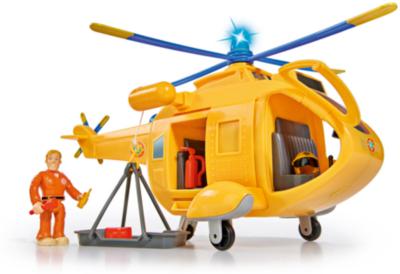 Neu Simba Feuerwehrmann Sam - Hubschrauber Wallaby 2 mit