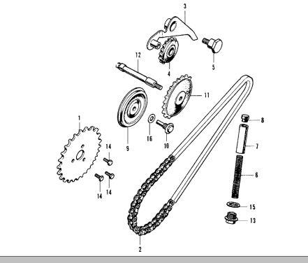 Cam Chain Tensioner Pivot
