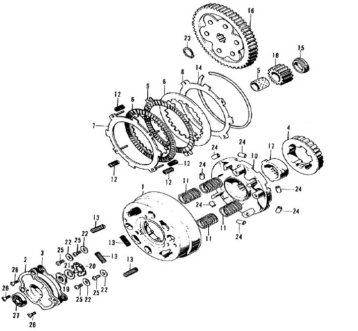 Primary Drive Gear (17t)