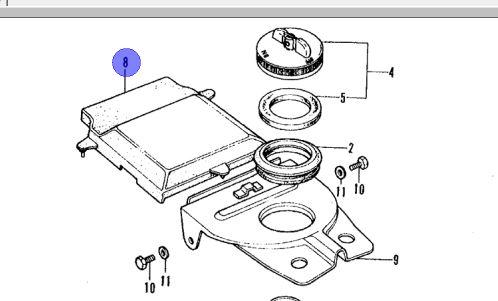 Rubber Frame Lid/ Battery Cover