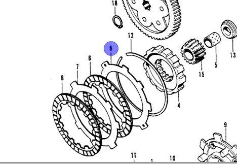 OEM H Model Clutch Kit