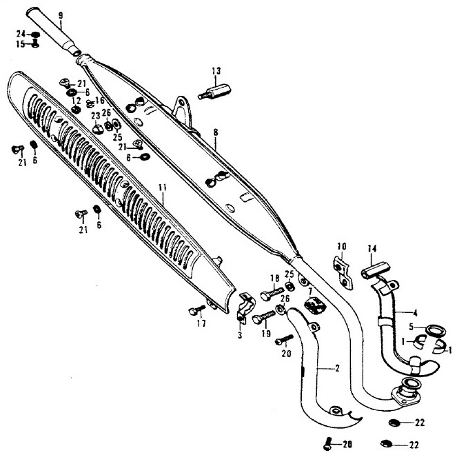 Collar Exhaust Pipe Joint