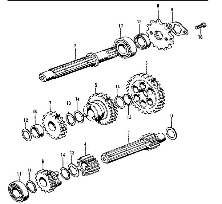 Front Sprocket Drive Plate with bolts