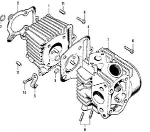 OEM Cylinder Head Gasket