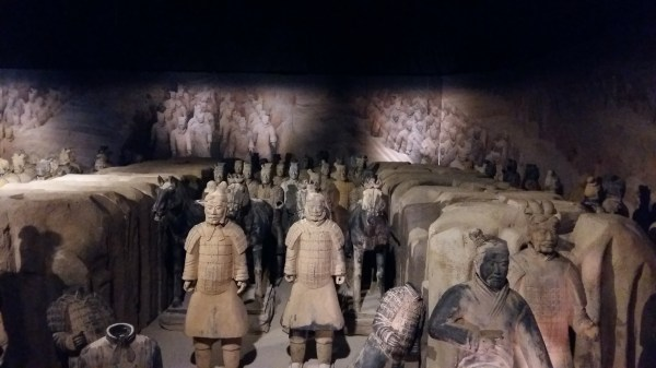 Terracotta Army Exhibition Train Of Thoughts