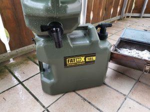 Camping Wasserkanister Test
