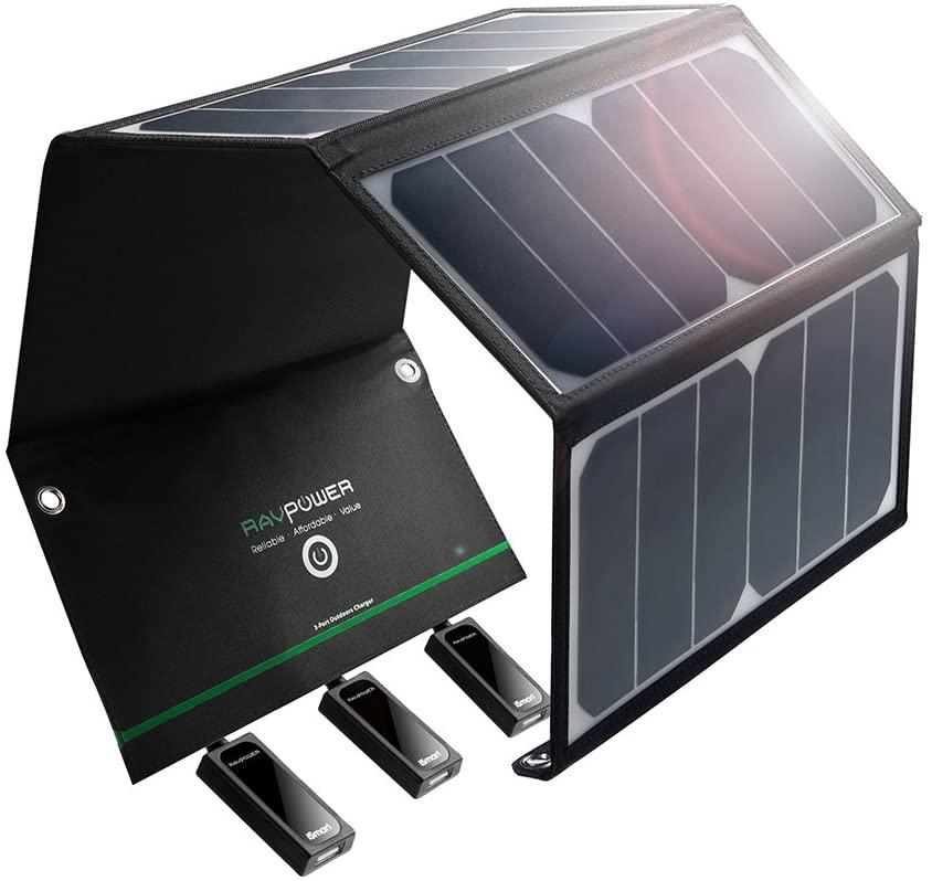 RAVPower 24W Solar Ladegerät Test