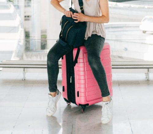 Reisetasche mit 4 Rollen Test