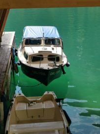 klares grünes Wasser