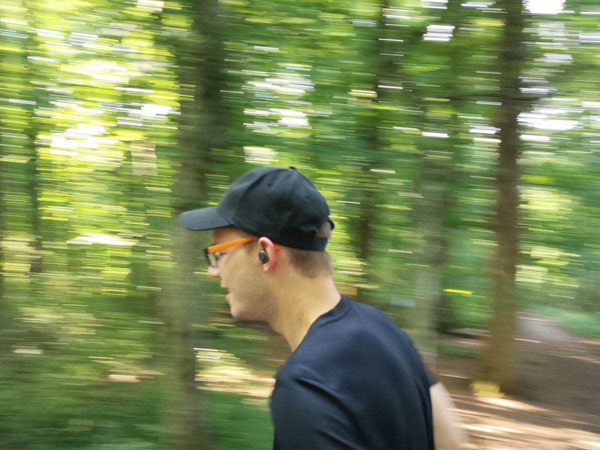 Laufen mit Sportkopfhörer Test