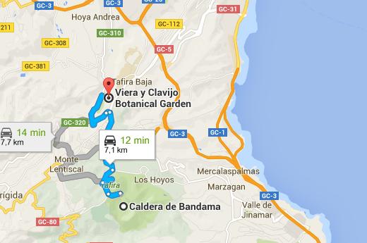 Jardin Canario maps 3