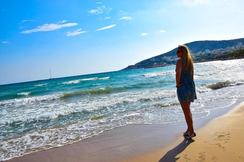 Plaże w okolicach Aten
