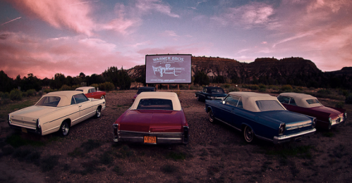 Drive in cinema Amsterdam