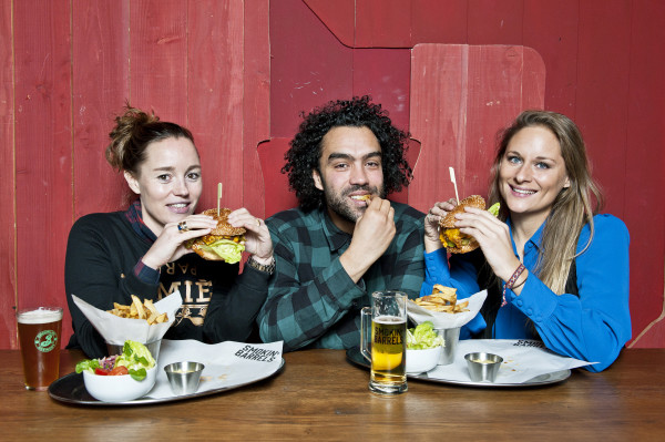 Smokin' Barrels Riad Farhat Rebecca Boektje Beste Burger Amsterdam
