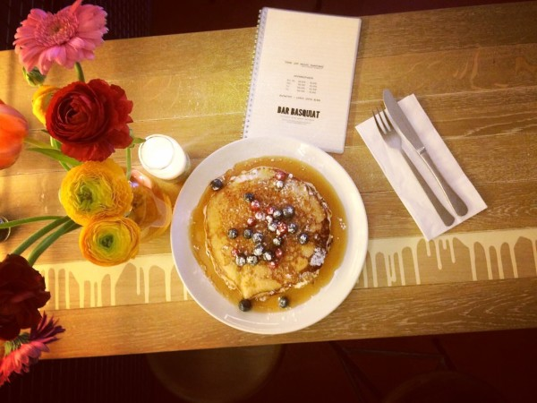 Bar Basquiat Pancakes best of amsterdam