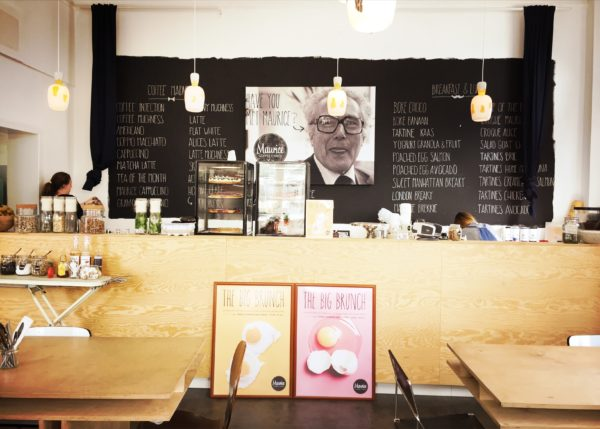 Maurice Coffee & Knits leuk brunchen Antwerpen