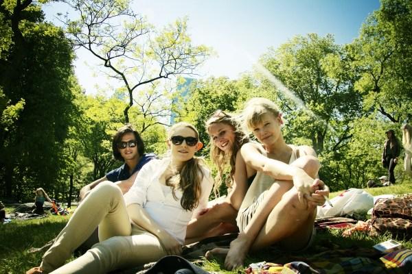 Pop Up Picknick in het Vondelpark