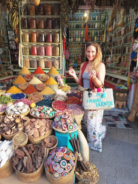 Shoppen in de Souks van Marrakech