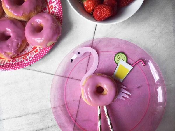 Flamingo Donuts