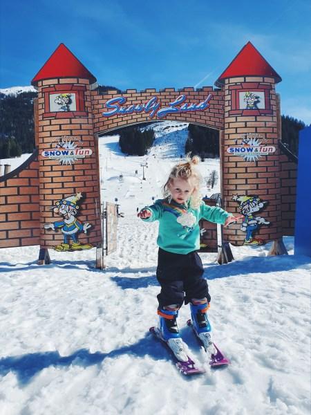 Skien met kids