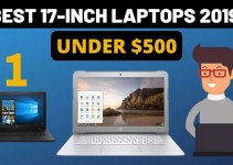 best 17-inch laptops under 500 dollars
