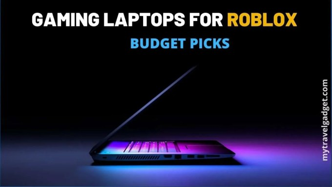 best laptops for roblox