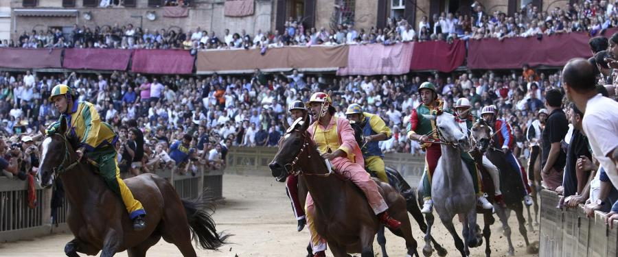 Palio Horse Race, Sinn Italy! A MUST on everyone's Bucket List.