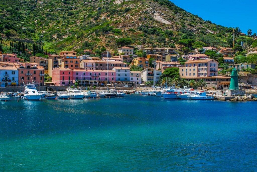 Giglio treasure Islands of Tuscany