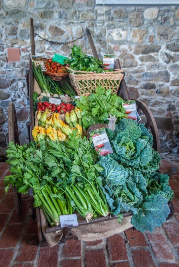fresh vegetables Tuscany
