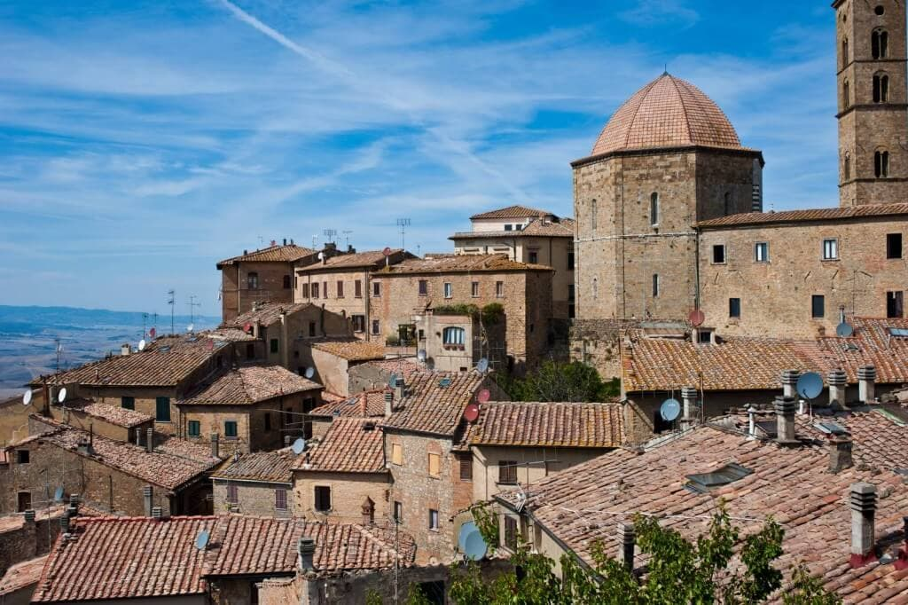 view of Volterra visit Tuscany