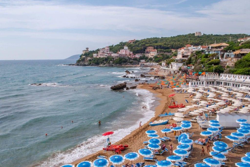 Baia del Quercetano Castiglioncello Etruscan Coast Tuscany