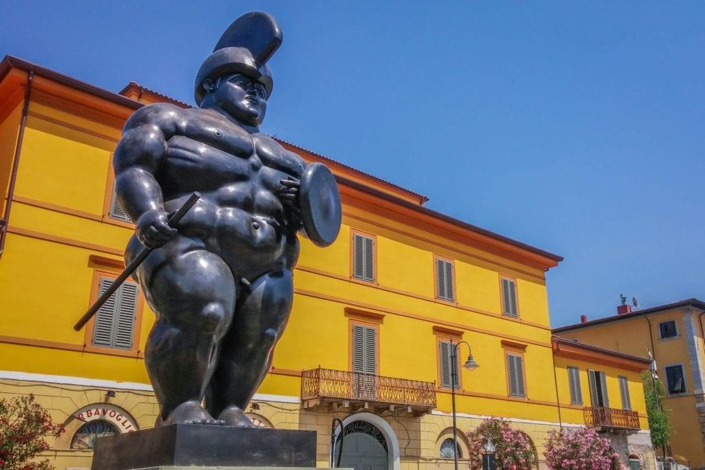 Botero in Pietrasanta Tuscany-2