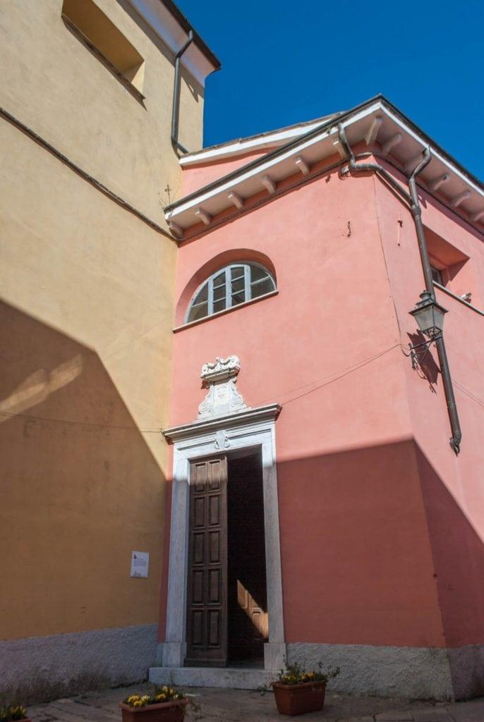 Oratorio dei Rossi Fosdinovo Tuscany