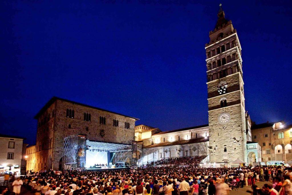 Pistoia summer festivals 2016 in Tuscany