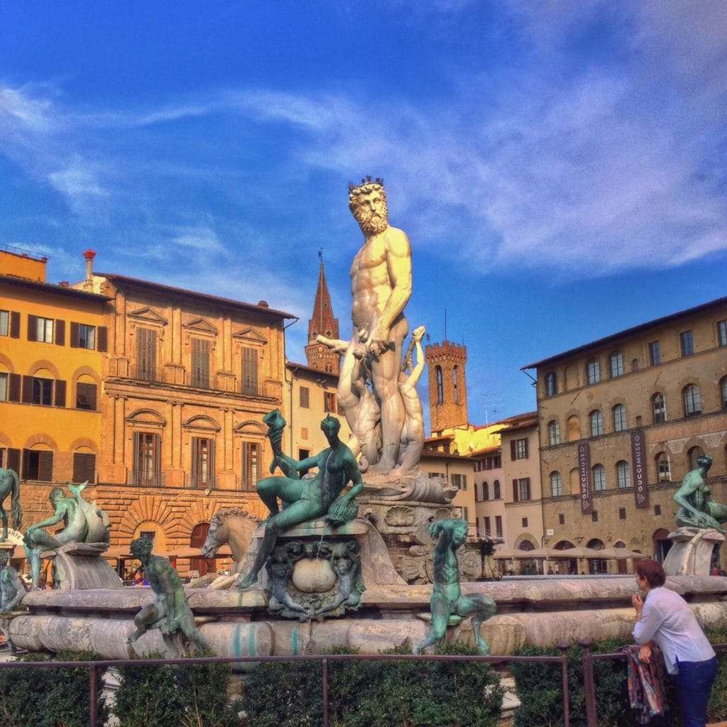 Fountain of Neptune Florence