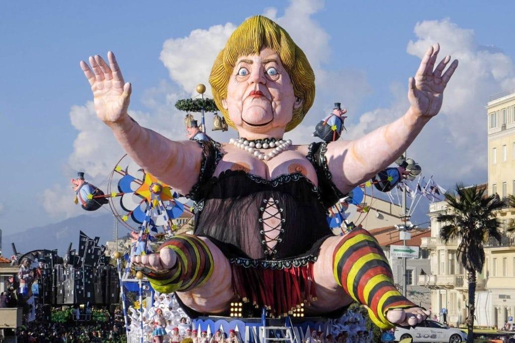 Italy Viareggio Carnival
